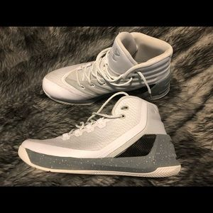 Under Armour Curry 3 'White' Mens Sneakers